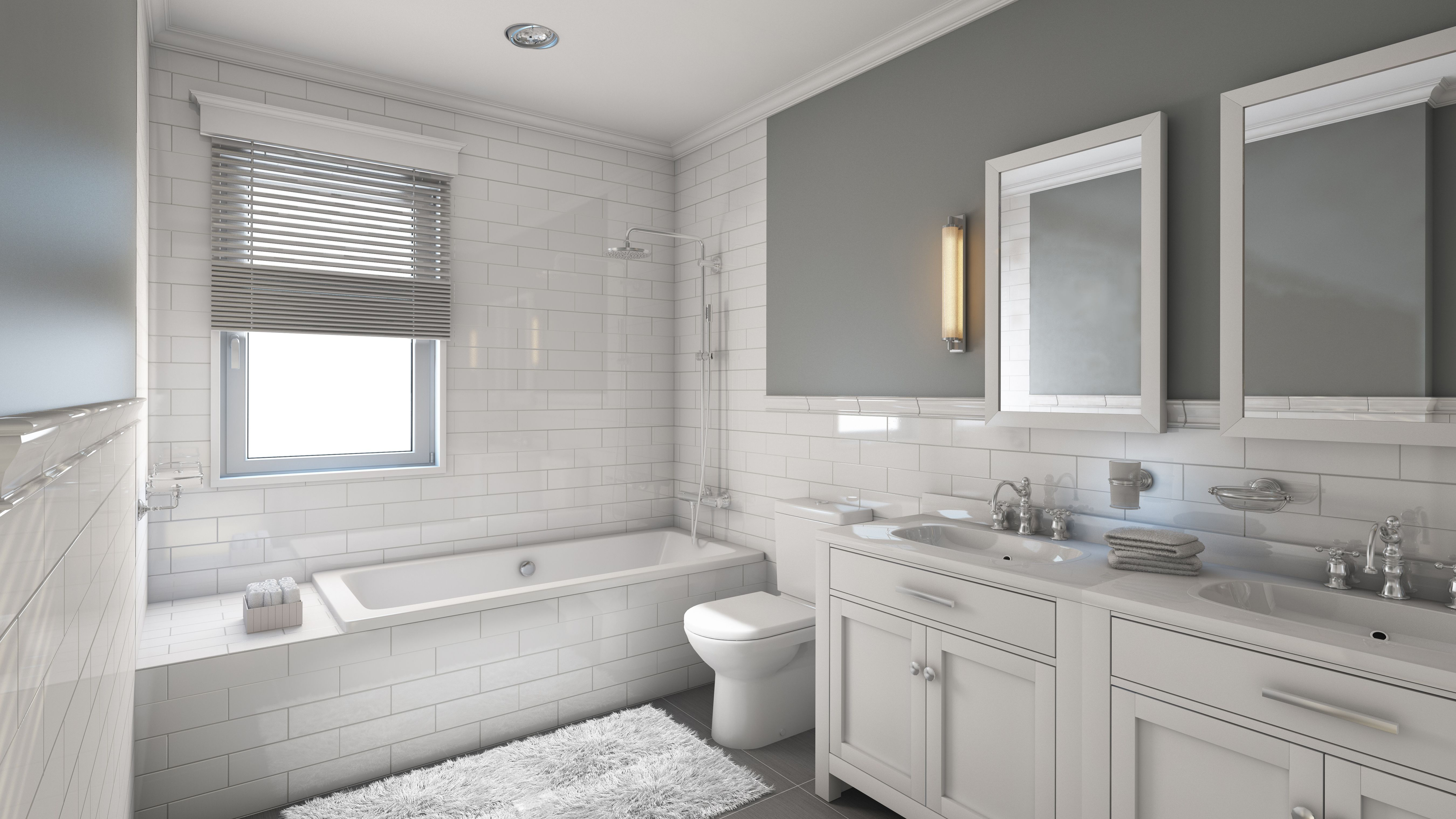 17 Clic Gray And White Bathrooms