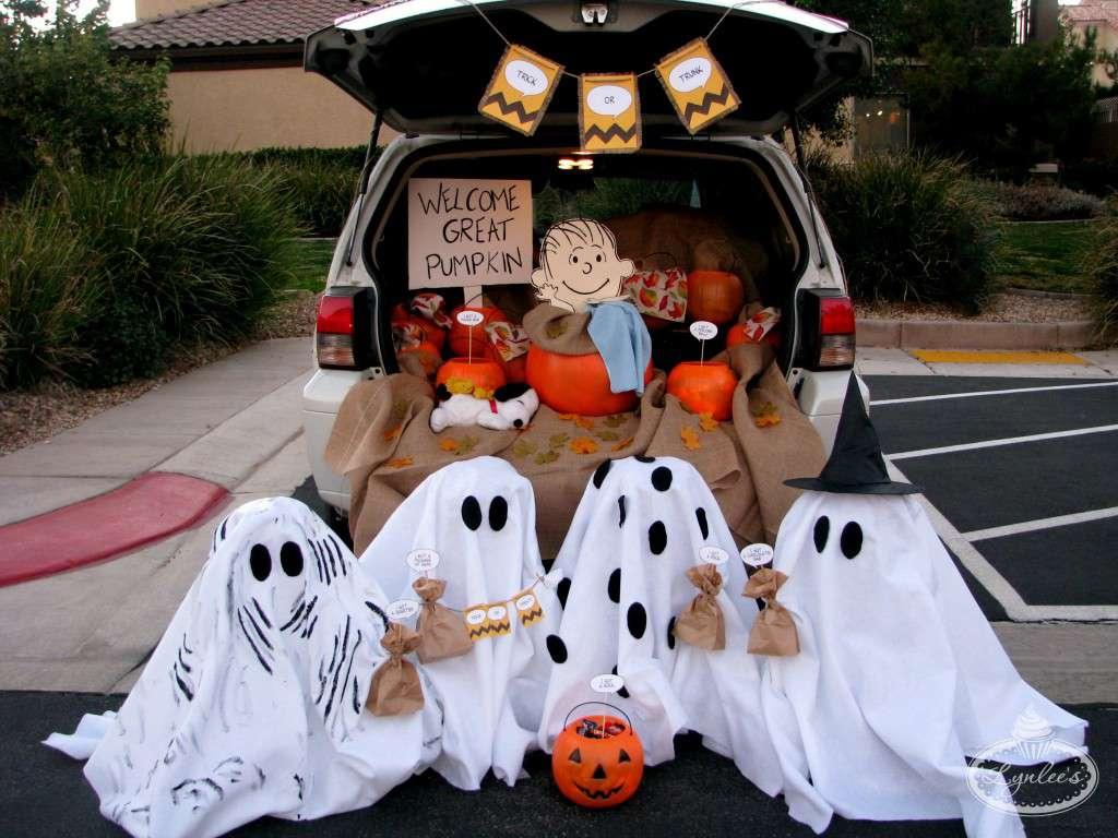 trunk or treat halloween ideas