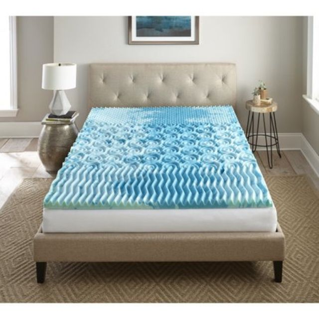 Best Memory Foam Mattress Topper With Cooling Gel
