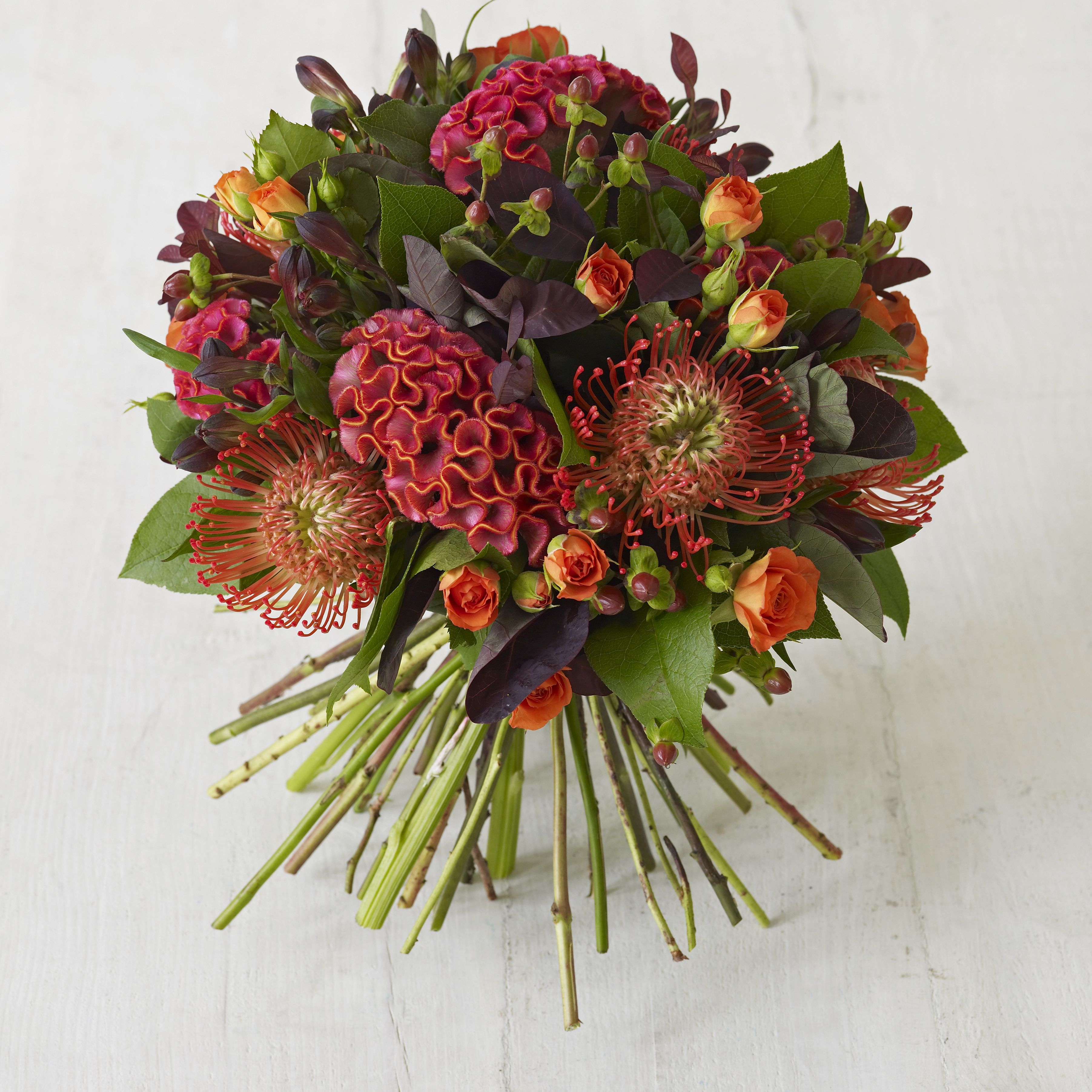 Image of: Fall Wedding Flower Gallery