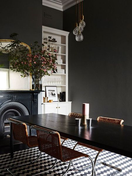 8 Black Dining Rooms With Style