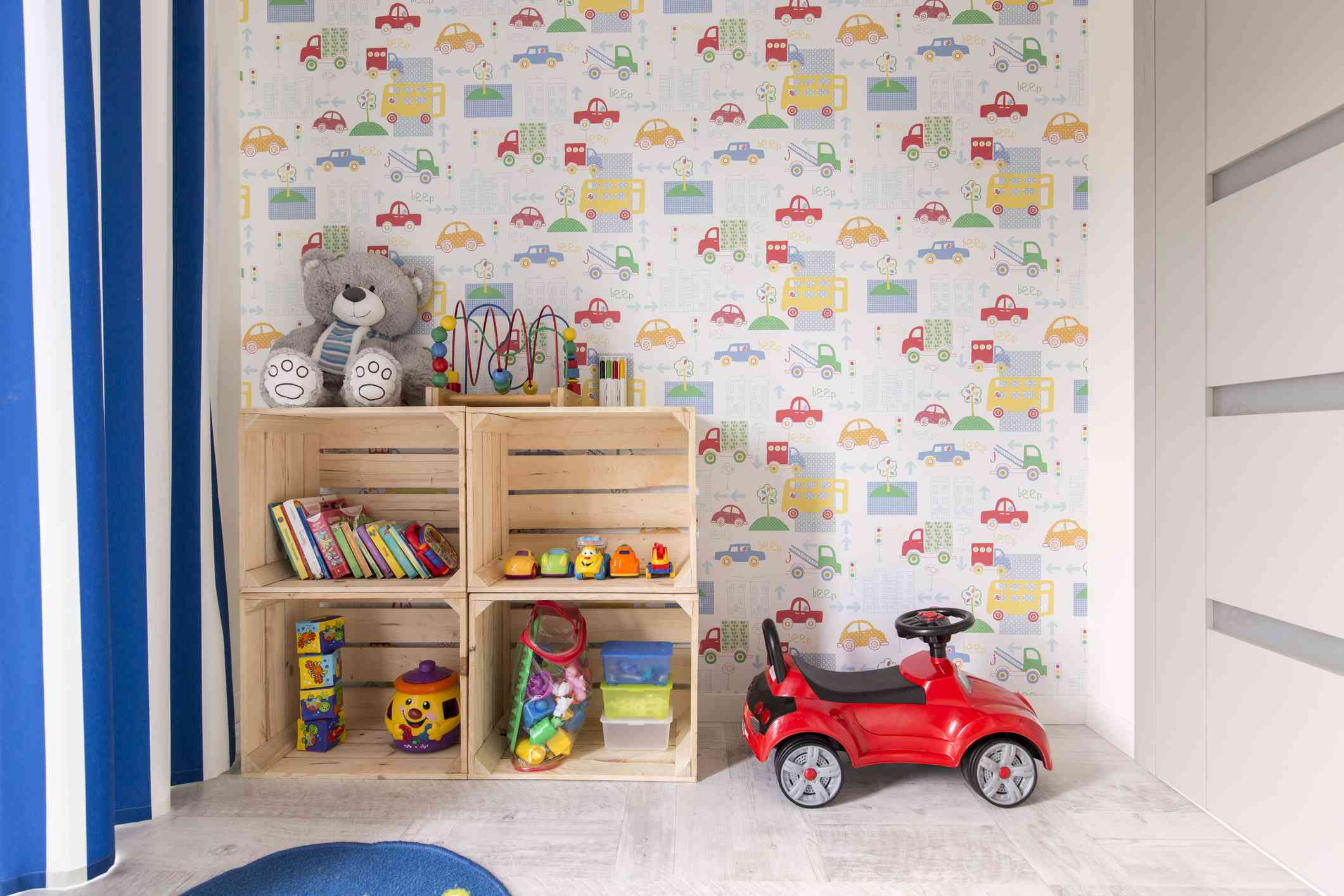 Habitación diseñada para niños pequeños