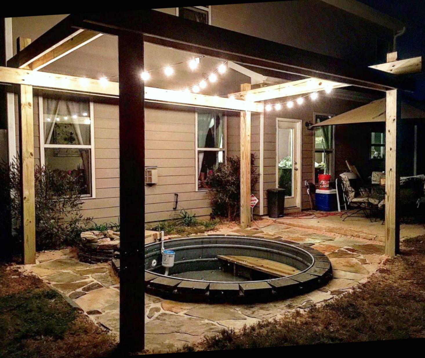 31 Clever Stock Tank Pool Designs and Ideas