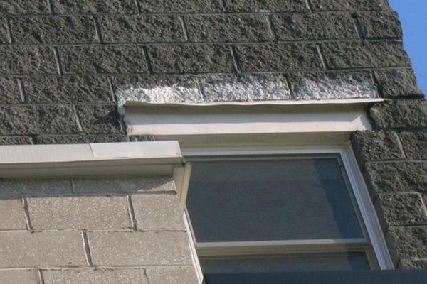 an example of concrete efflorescence