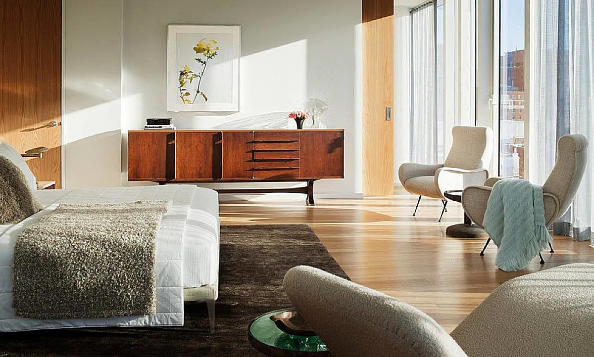 Modern contemporary and minimalist bedroom design - Midcentury modern bedroom furniture ...
