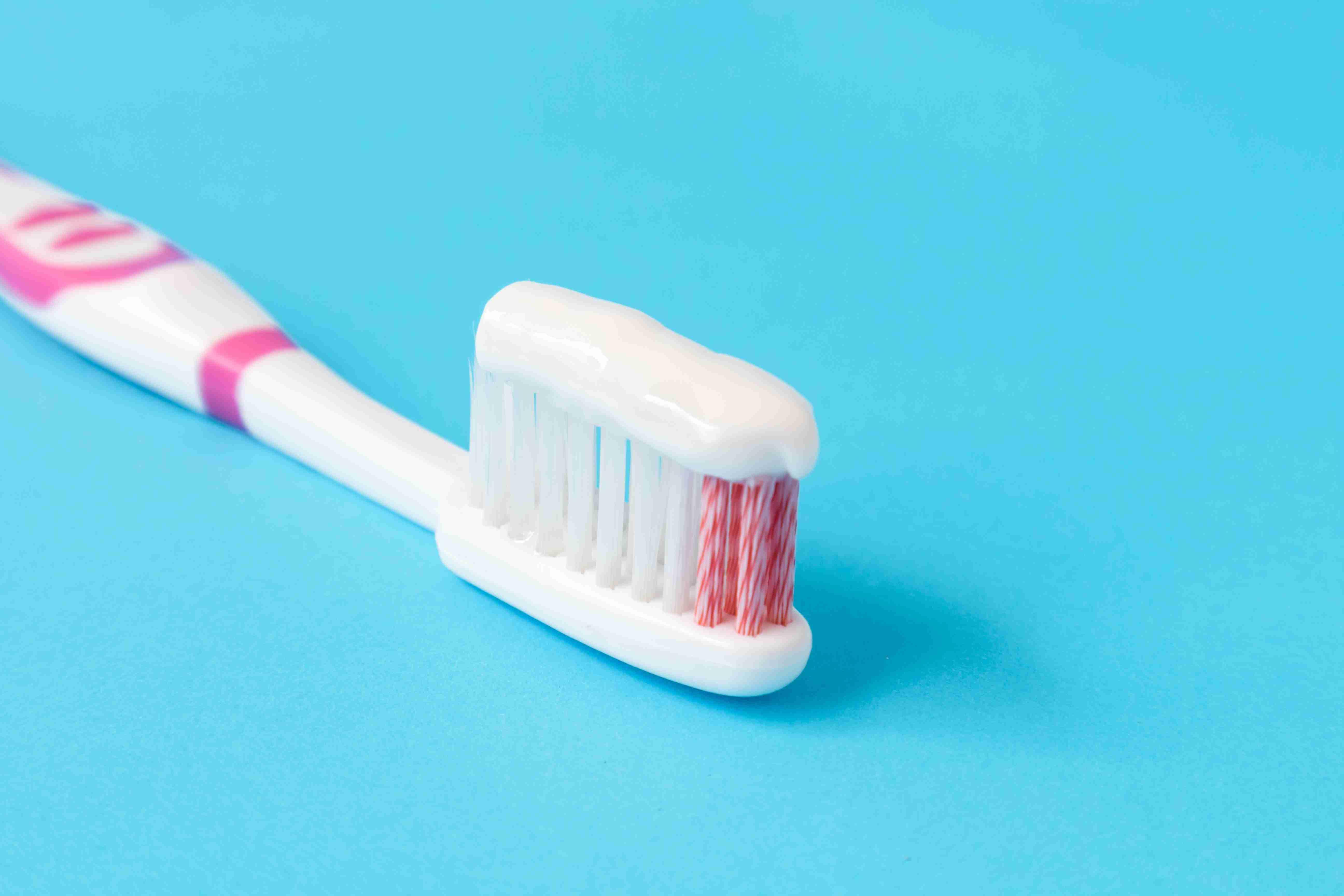 white toothpaste