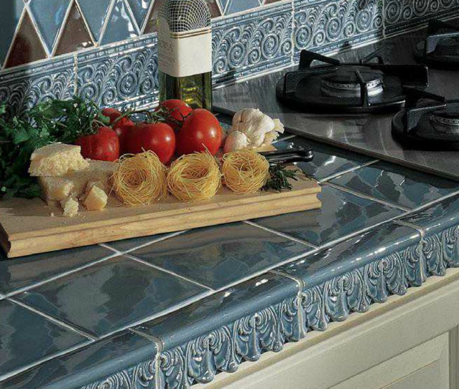 Tile Counter Ideas For Kitchens And Baths