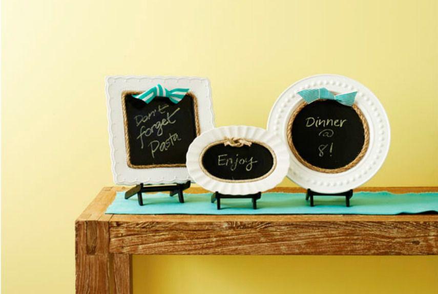plate chalkboards