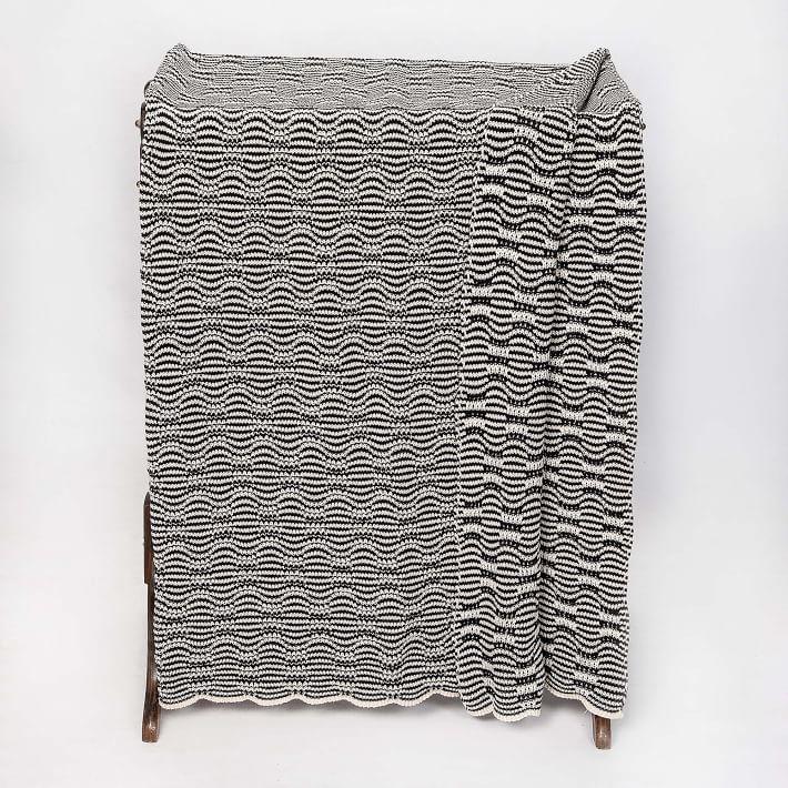 Optical Stripe Blanket