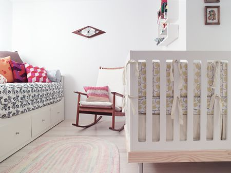 7 Modern Nursery Chairs For Less