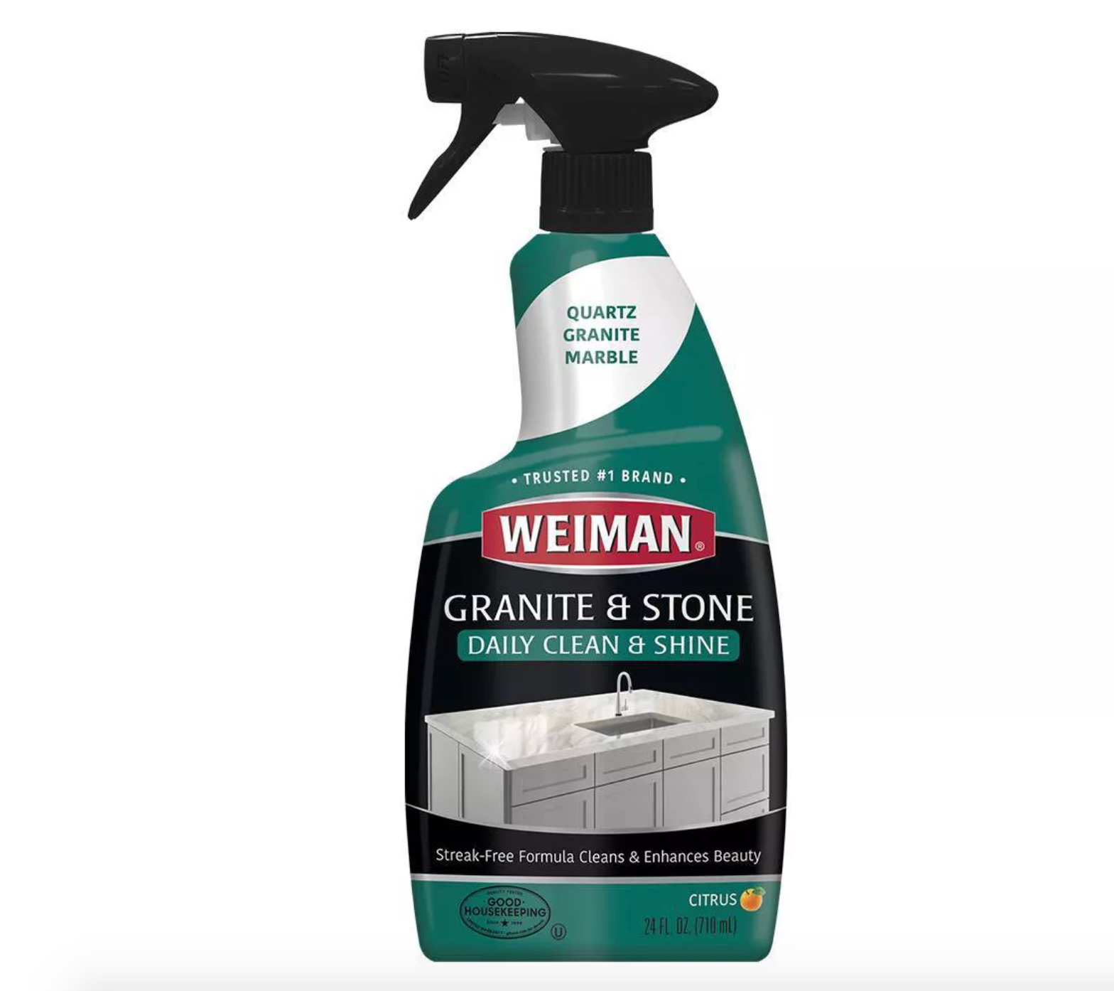 Weiman Granite Cleaner and Polish for Daily Use