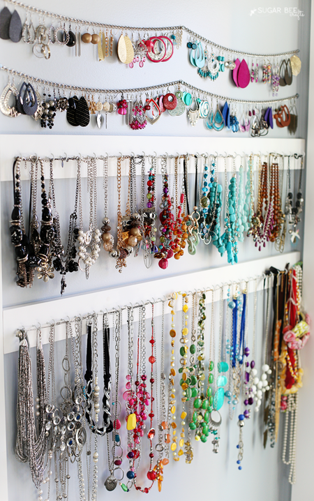 9ee99d457c1 11 Ideas for Jewelry Storage, Organization, and Display