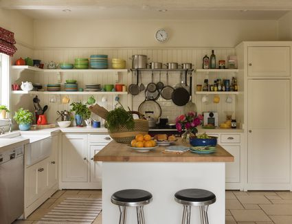 Ways to maximize kitchen wall space