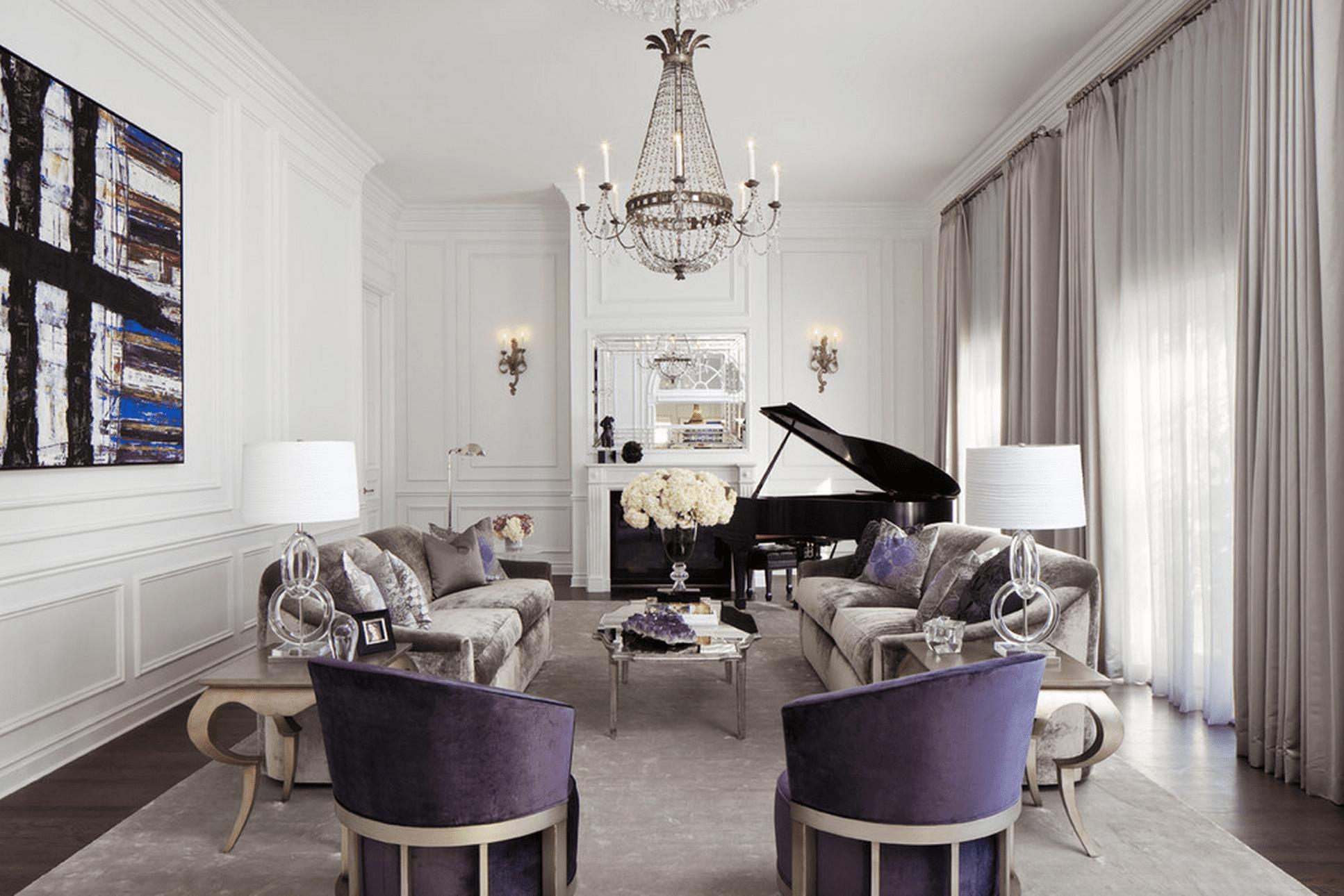 15 Beautiful Living Room Lighting Ideas