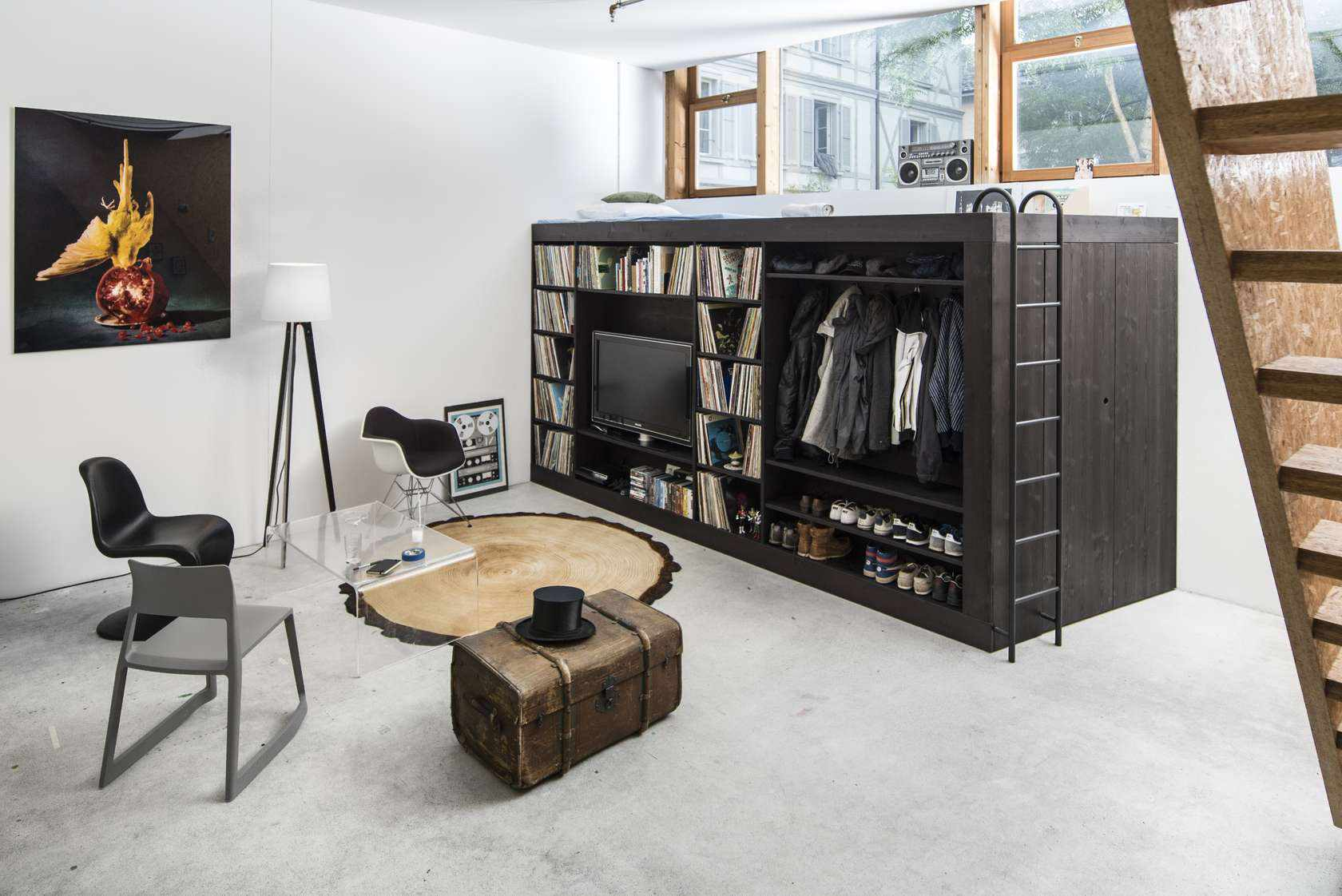 Picture of: 5 Seriously Stylish Loft Beds For Adults