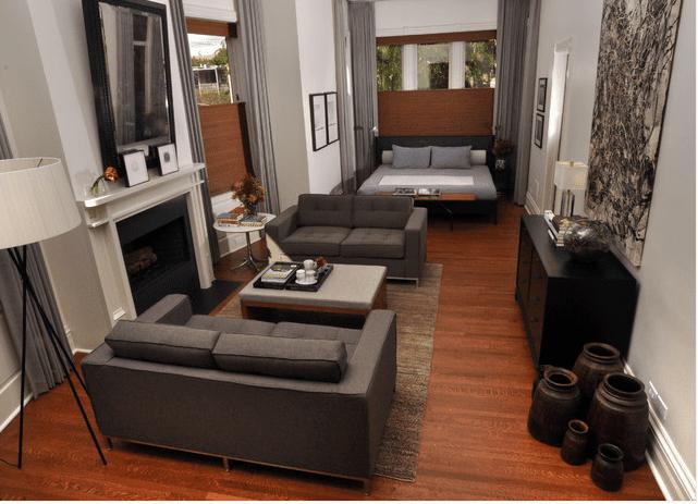 Un apartamento estudio masculino