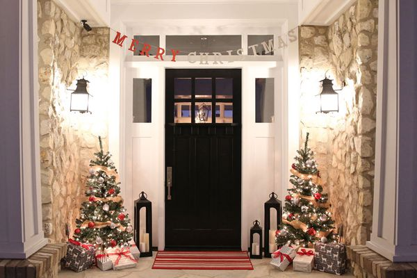 holiday porch simple easy