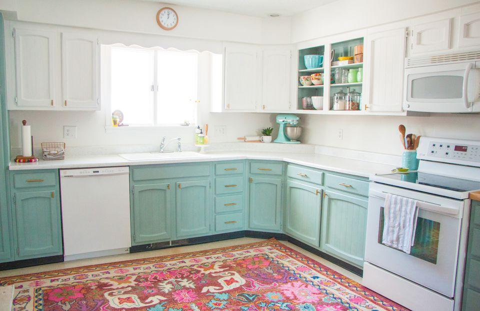 19 Pastel Colored Kitchen Ideas