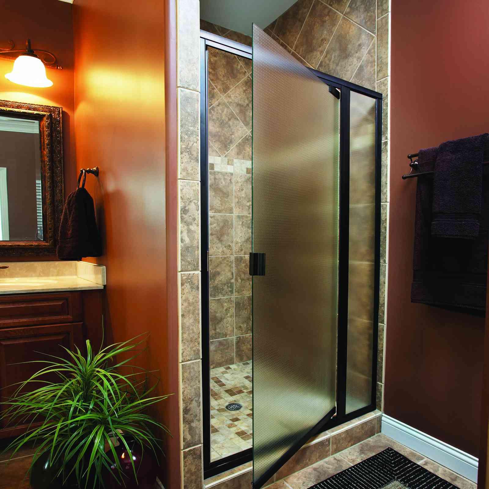 Basco framed shower door2