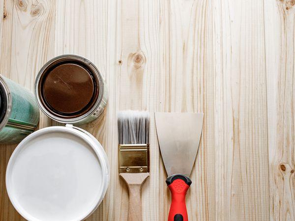 Wood Filler Repair Set-up