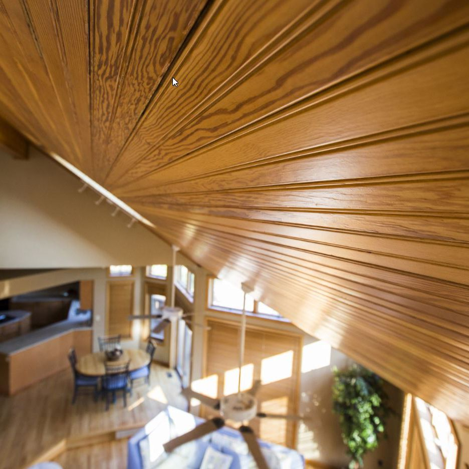 Tongue-and-Groove Wood vs. Drywall Ceiling