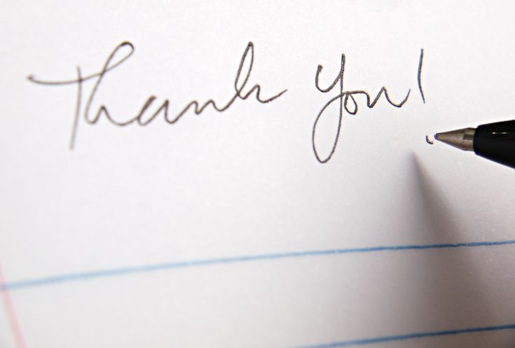 How to write a thoughtful thank you note expocarfo Choice Image