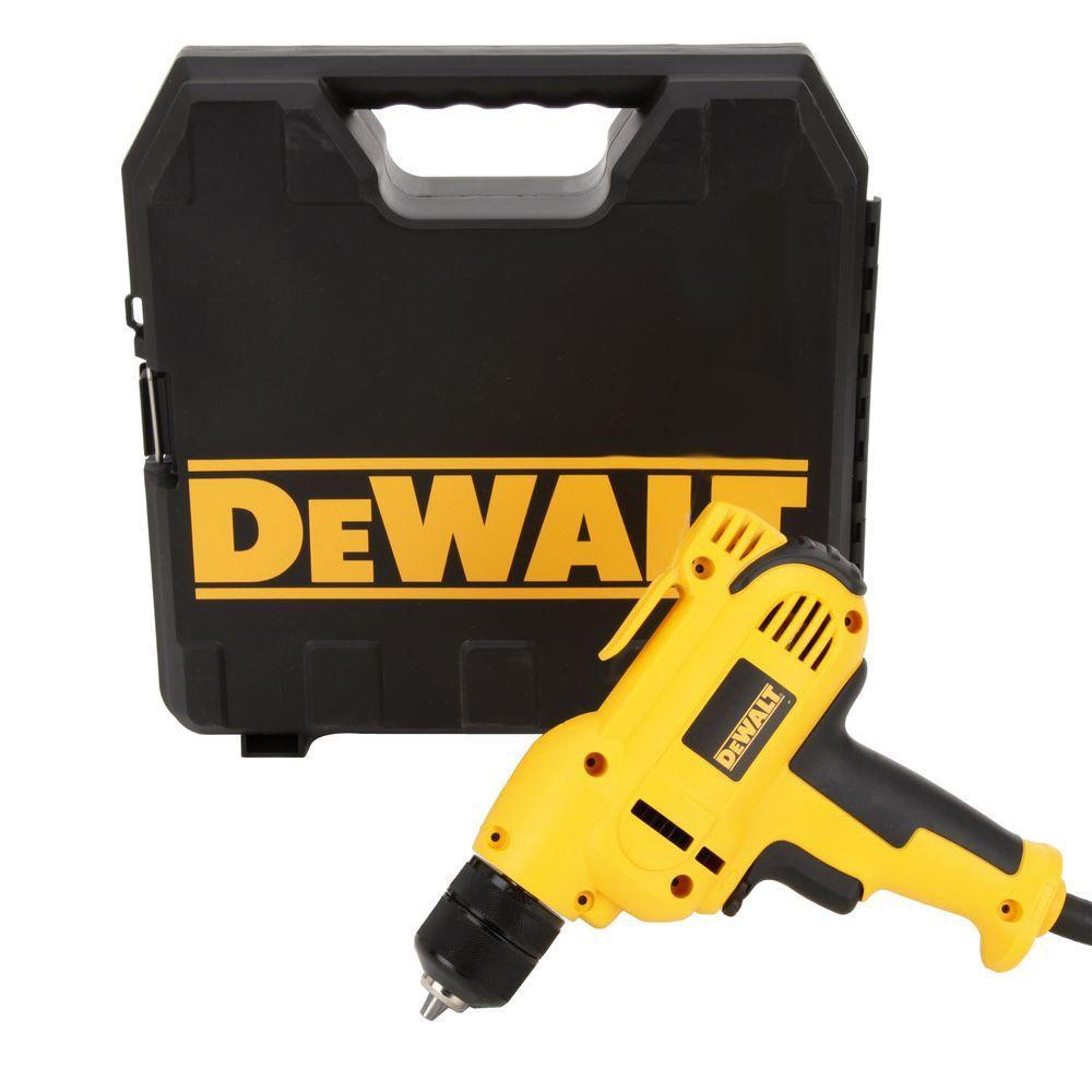 DeWalt 8 Amp 3/8 in. Variable Speed Reversing Mid-Handle Drill Kit