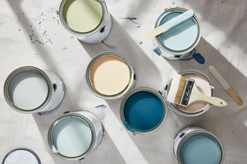 Beach inspired paint colors