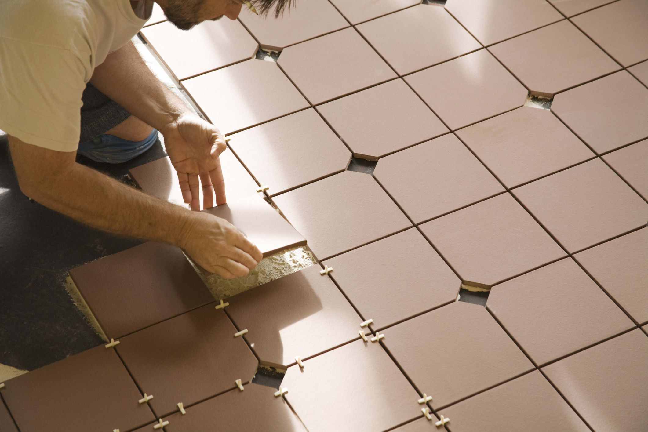 Floating Tile Flooring Ready For