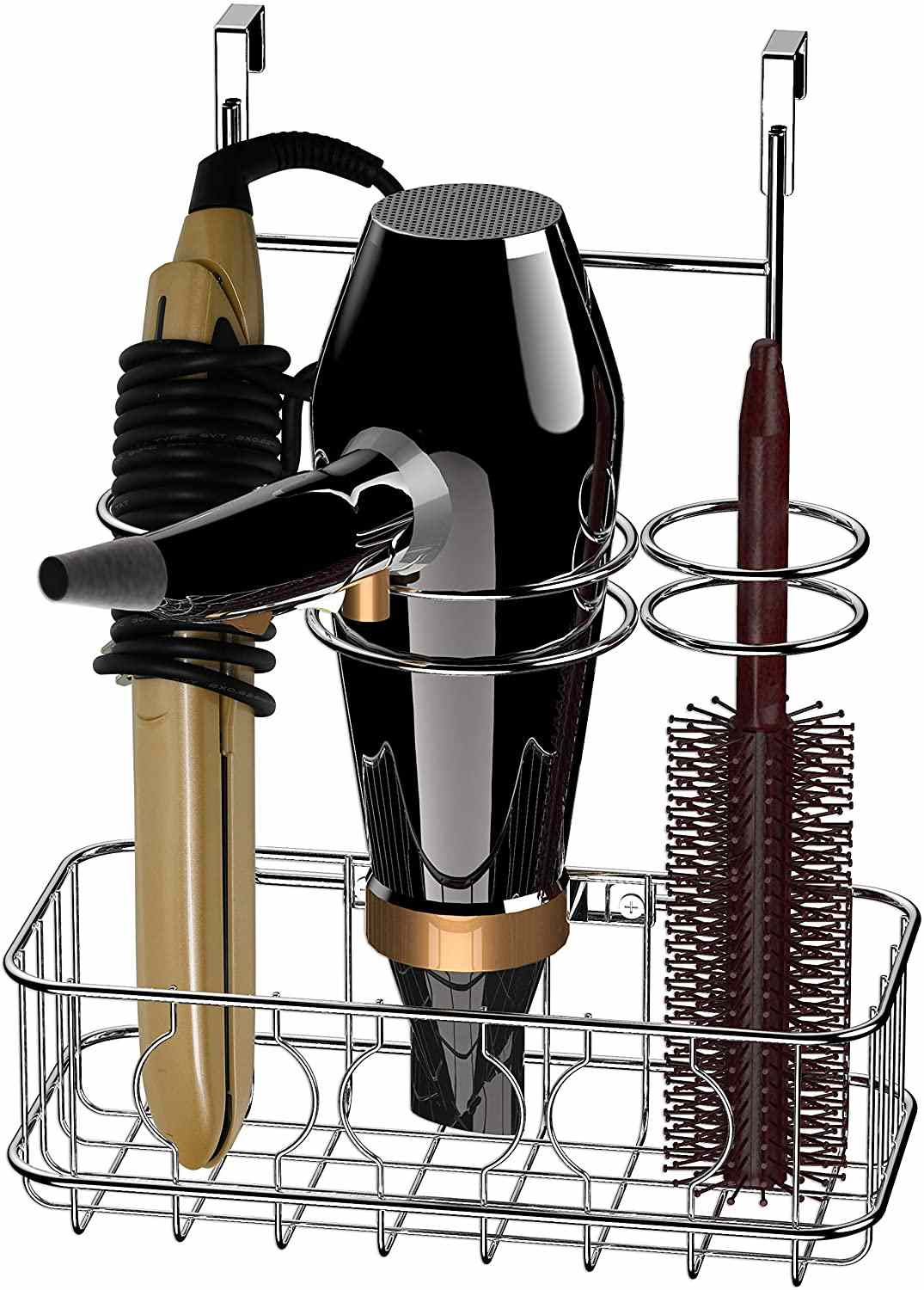 Simple Housware Hair Dryer & Styling Tools Organizer