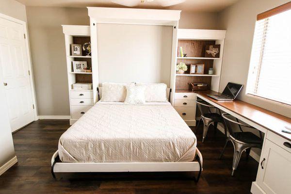 Elegant-DIY-Murphy-Bed