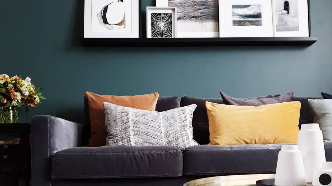how to style your sofa using throw pillows simply grove.htm 14 green living rooms  14 green living rooms