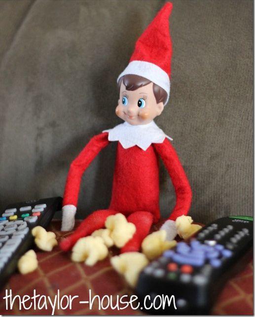 14 creative elf on the shelf ideas - Christmas Elf On The Shelf