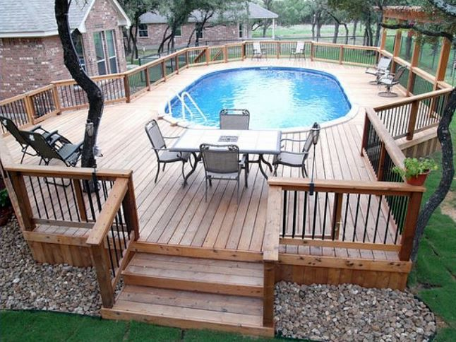 Backyard Deck Dimensions