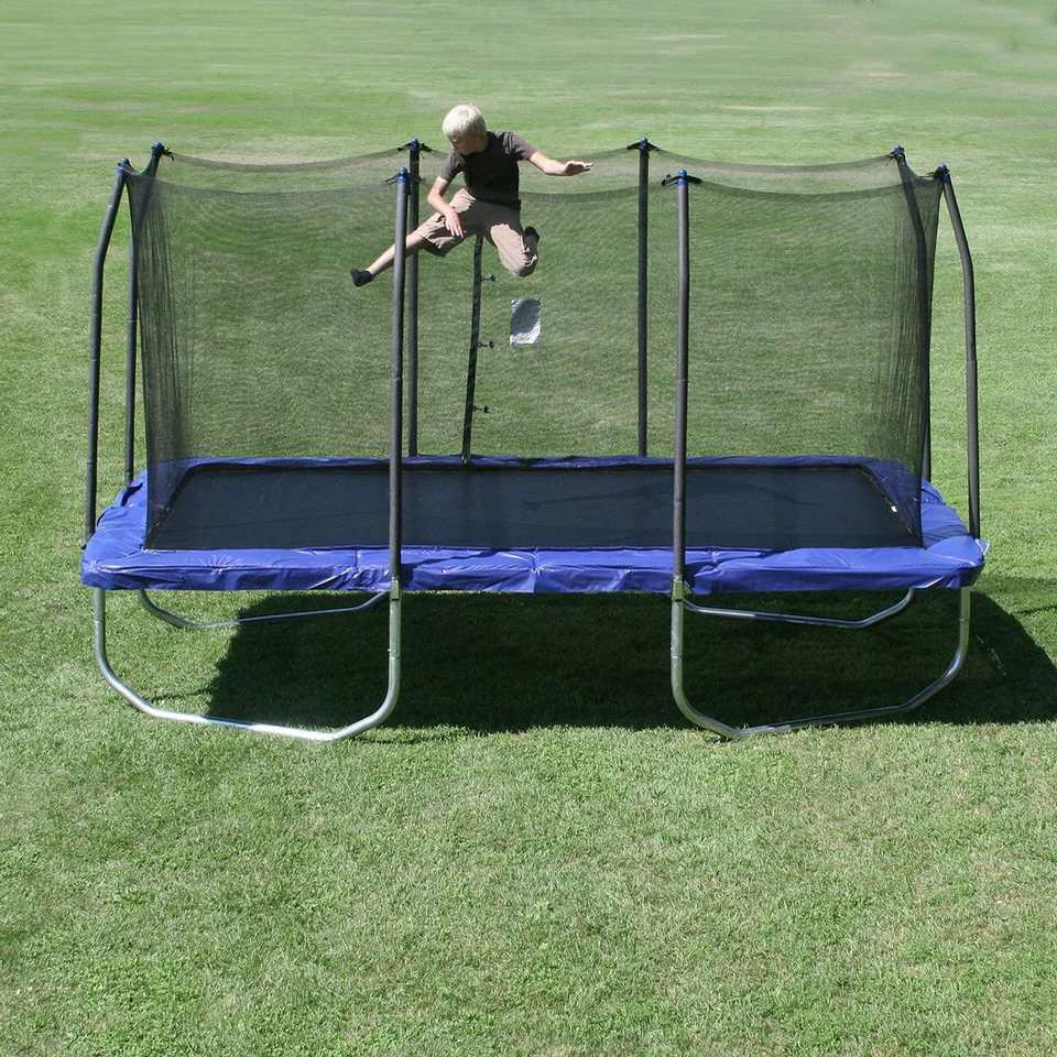Best Bounce: Skywalker Rectangle Trampoline - The 6 Best Trampolines To Buy In 2018