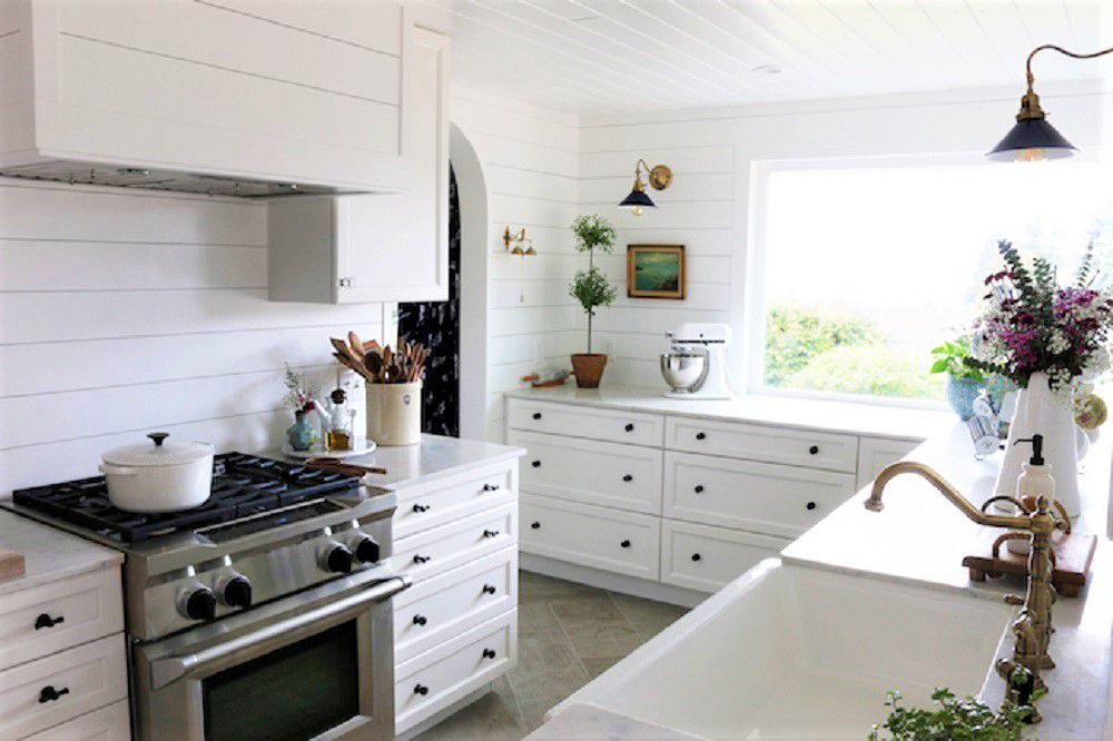 nautical small kitchen design