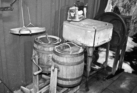 Old Fashioned Wringer Washer