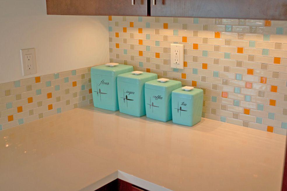 azulejos de cocina retro personalizados
