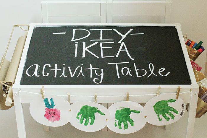 Mesa de actividades Ikea