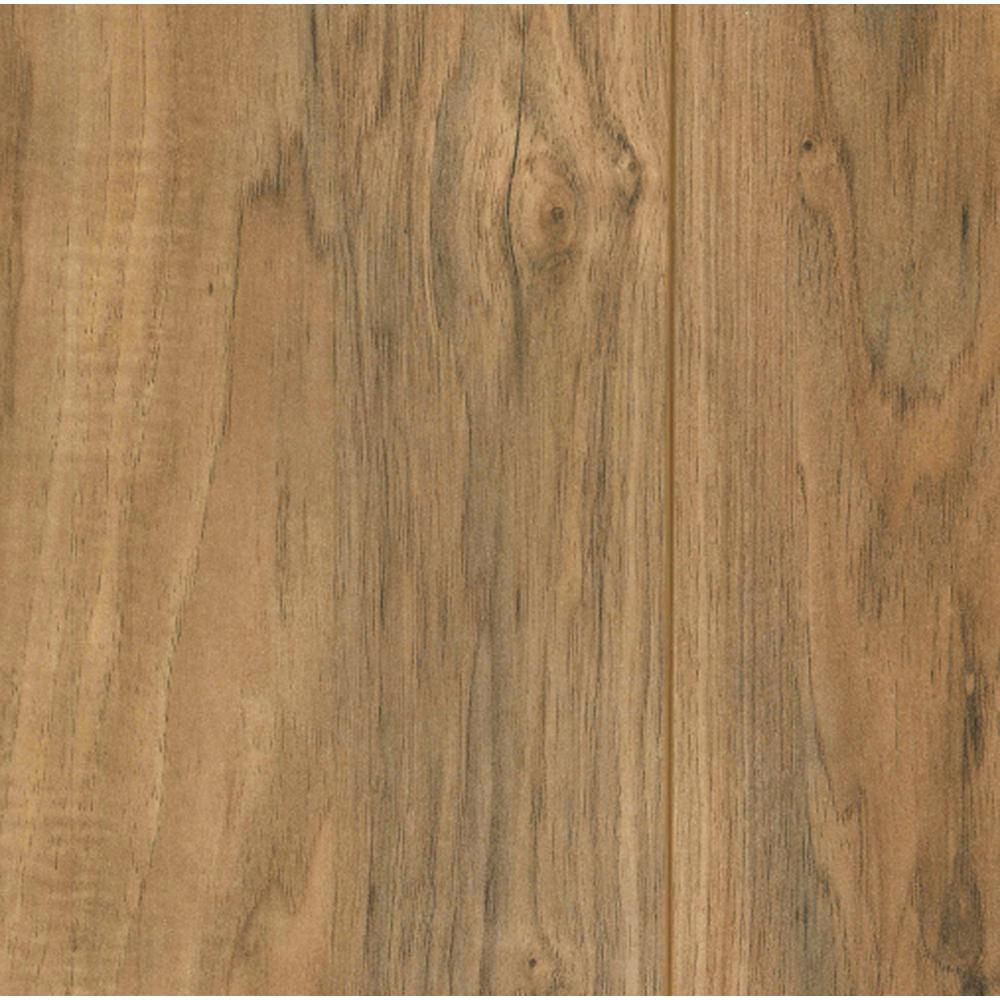 Best Overall Trafficmaster Lakes Pecan 7mm Laminate Flooring