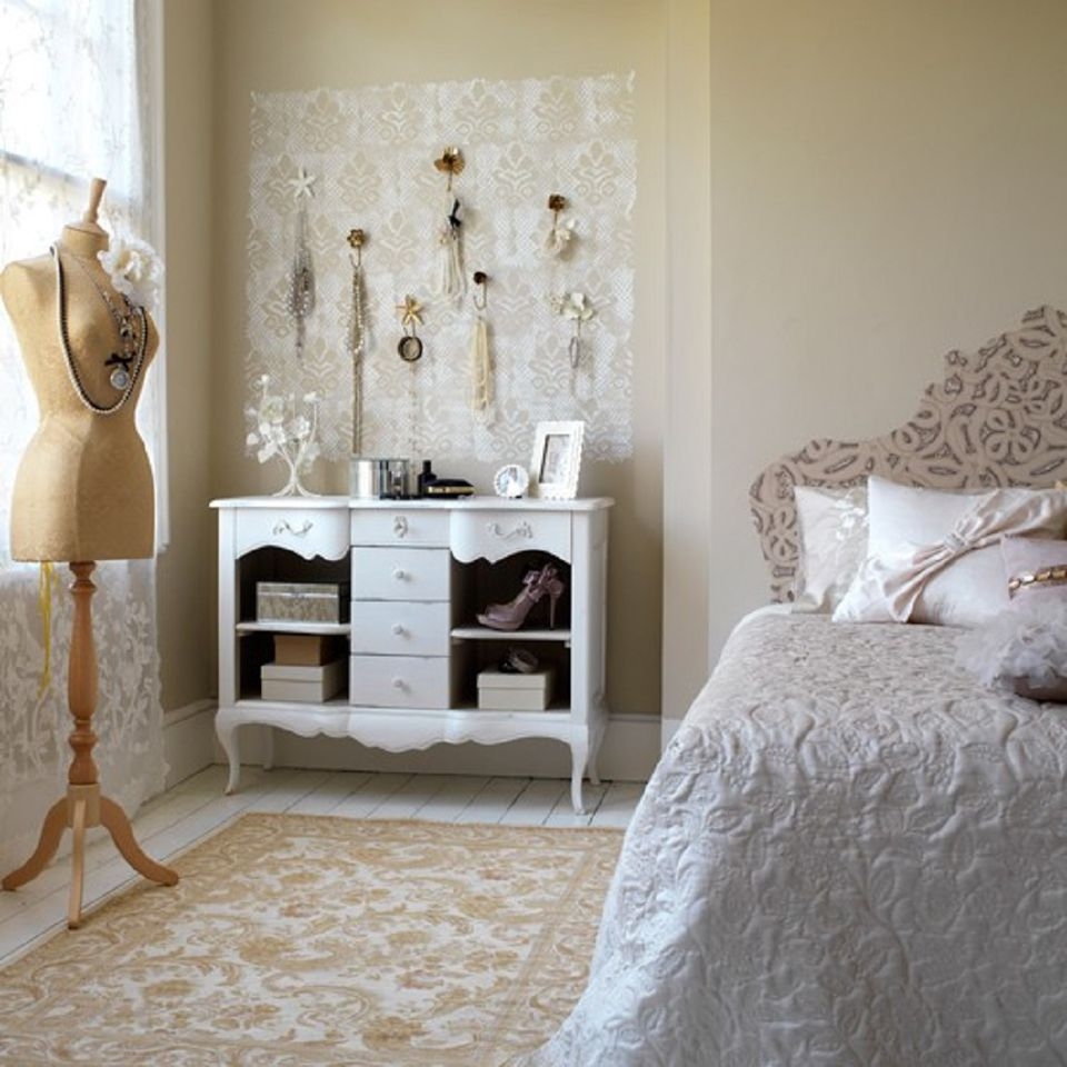 Diy Bedroom Ideas For Decorating The Kid S Bedroom To Be: Tips And Ideas For Decorating A Bedroom In Vintage Style