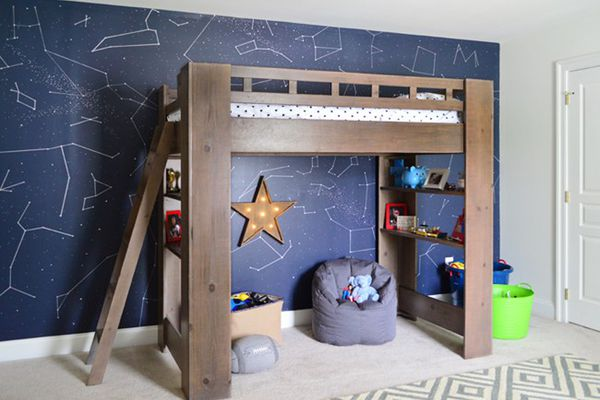 Sharpie Constellation wall