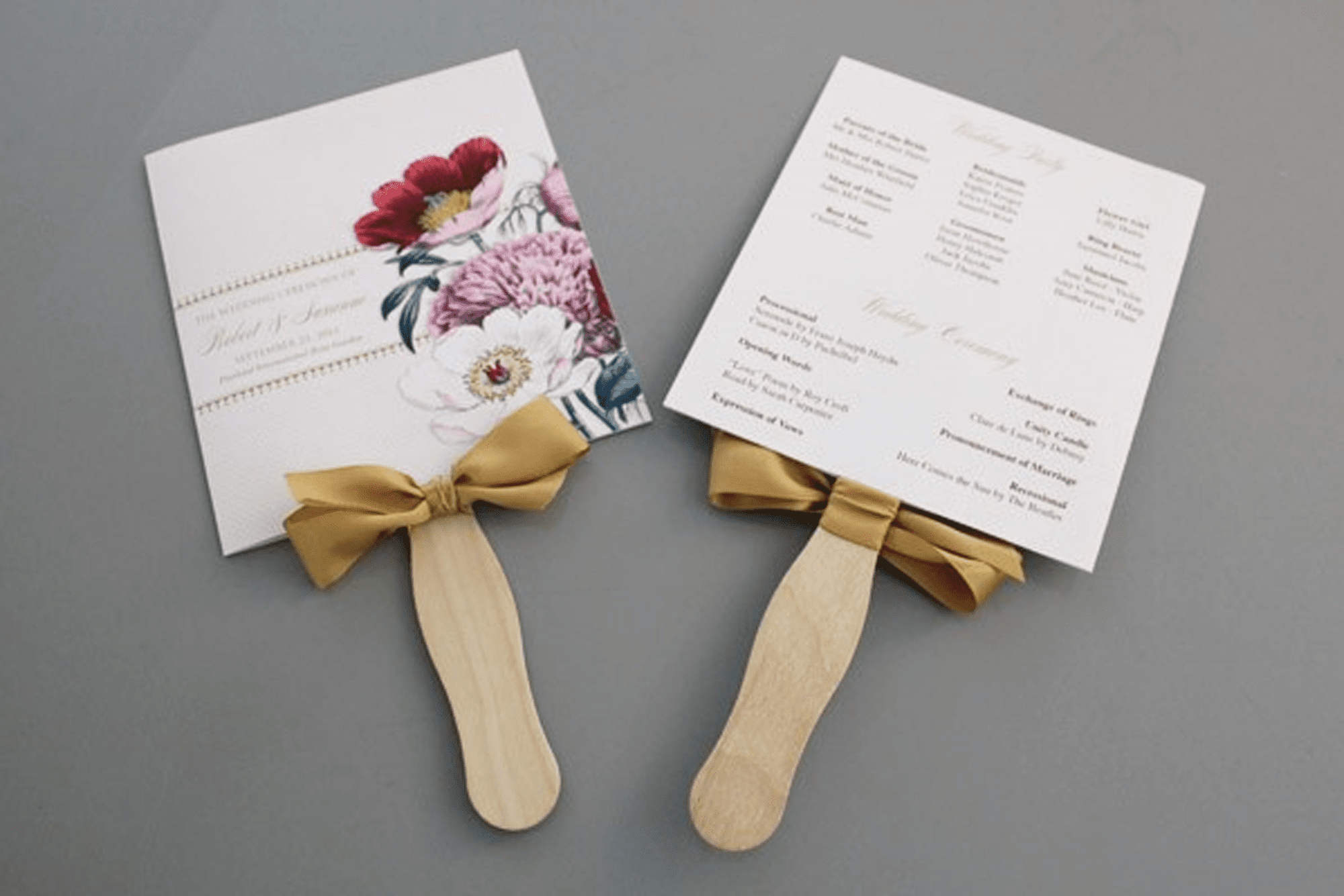 71 free wedding program templates you can customize - Free Wedding Program Fan Templates