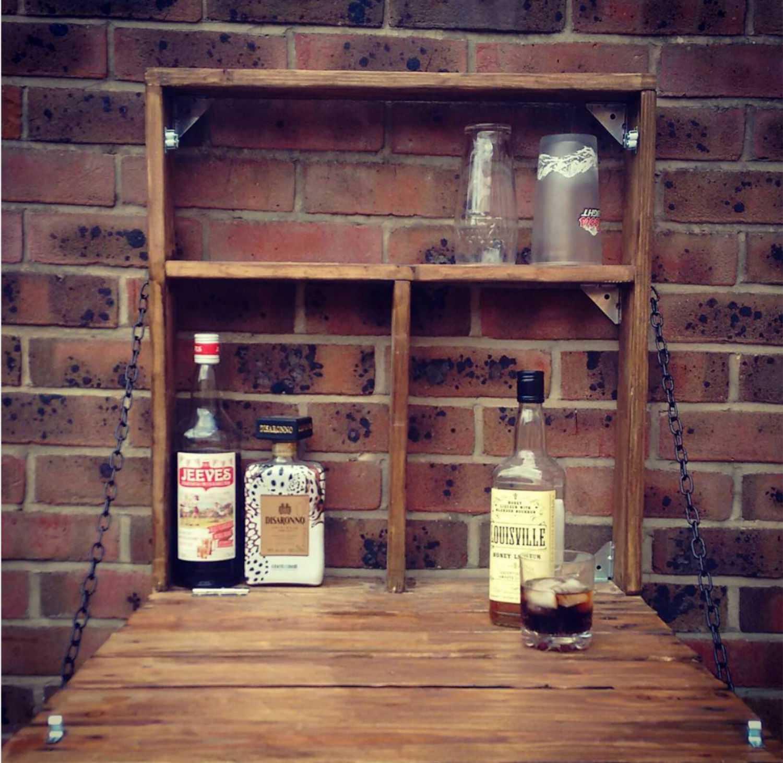 estante de licores