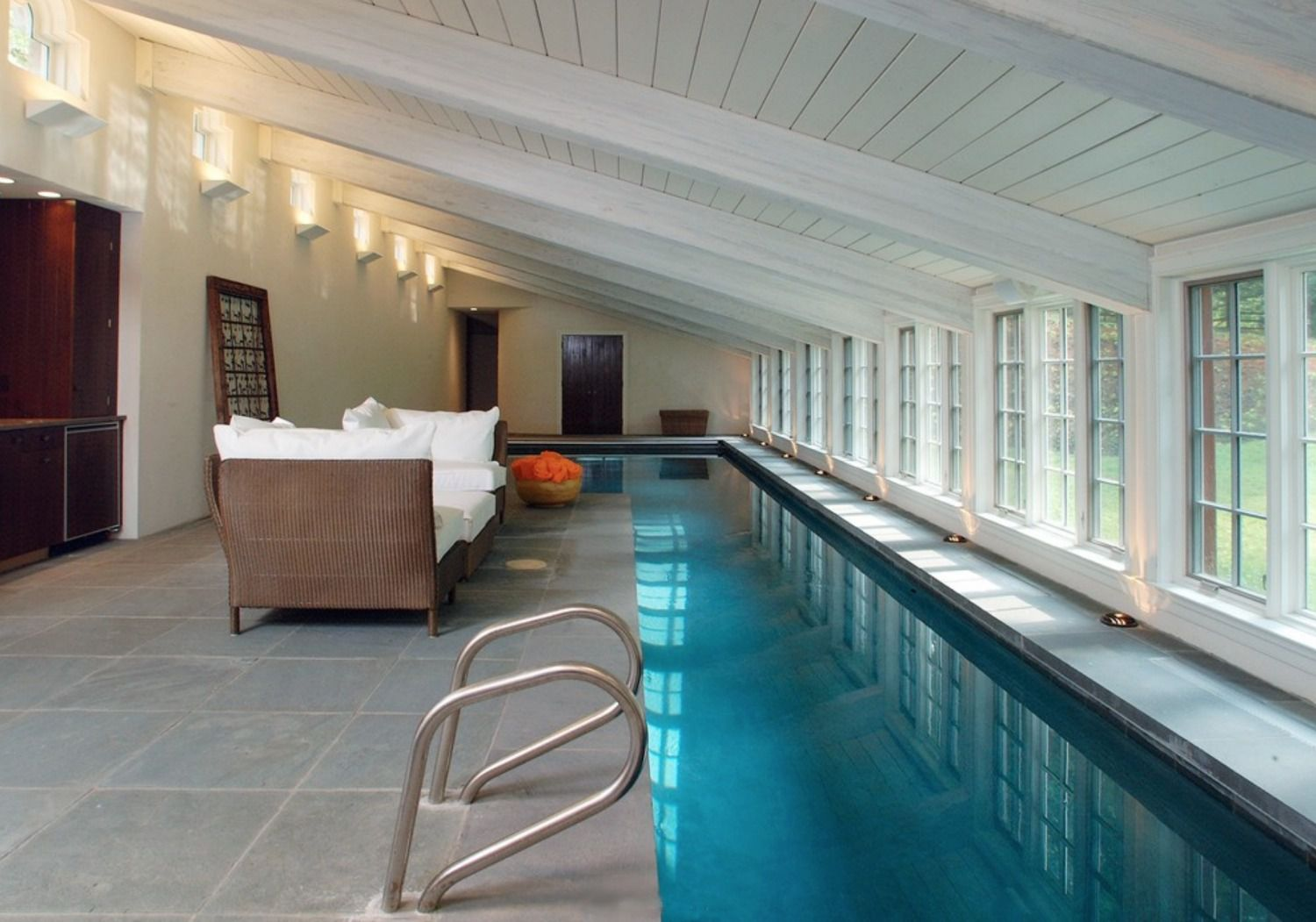 50 Beautiful Swimming Pool Designs - House-with-swimming-pool-design