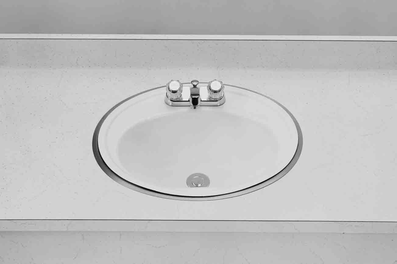 Framed sink