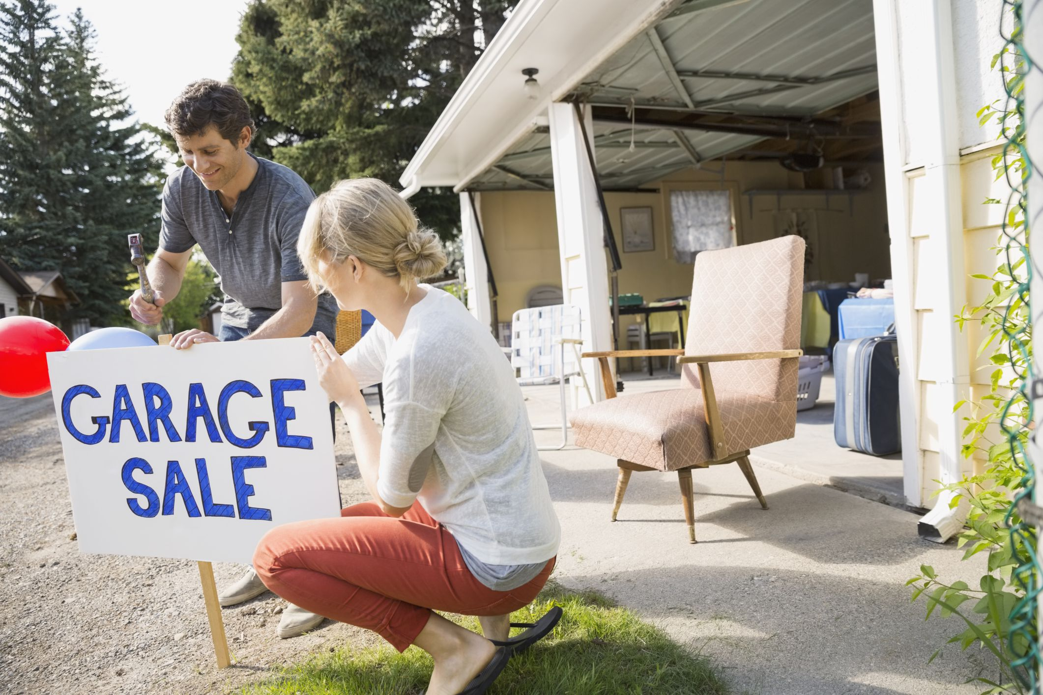 Garage Sales, Tag Sales: What's the Difference?