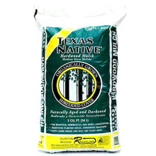 Texas Native All-Natural Hardwood Mulch