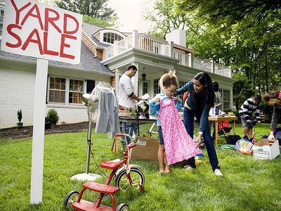 Have An Organized And Stress Free Yard Sale