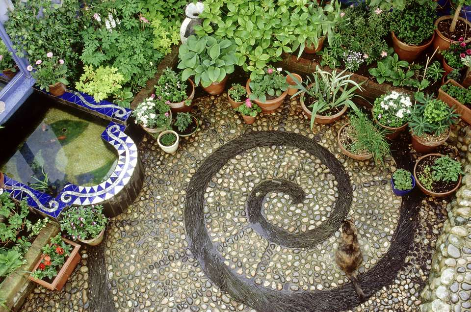 mosaic patio